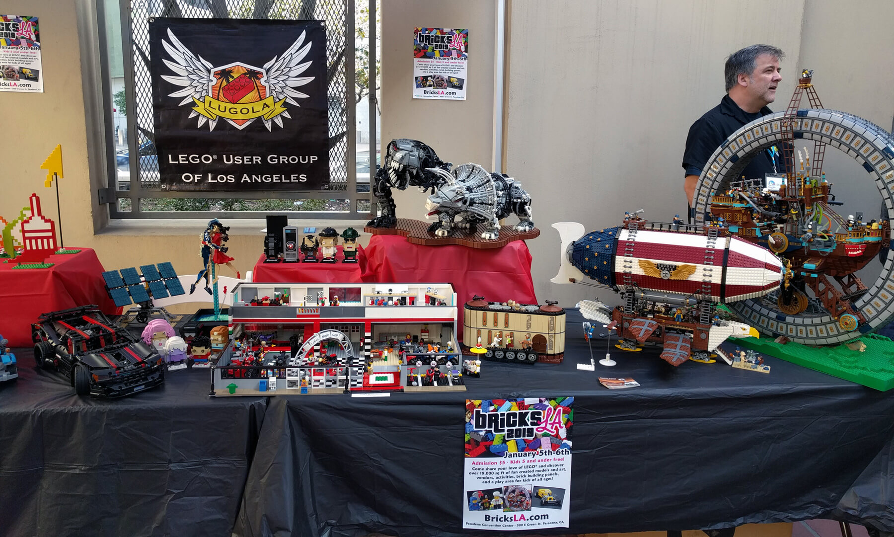 LUGOLA at DTLA Maker Faire
